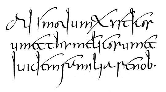 Minuscule-cursive from the 3rd century.