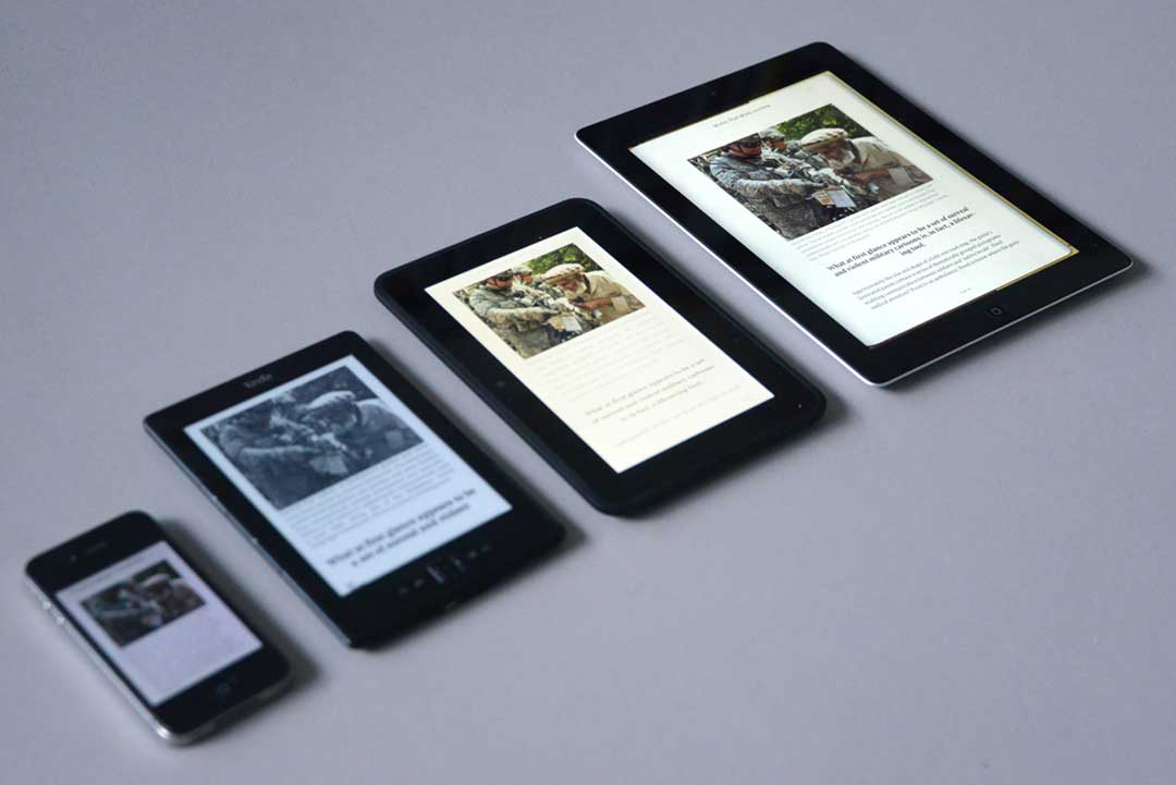 Testing Lava on e-readers