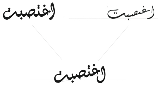 Typotheque: Arabic Calligraphy and Type Design by Kristyan