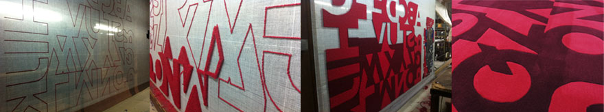 Typotheque Carpet Process