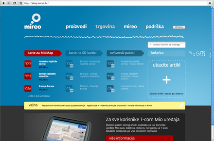Croatian software company Mireo, specializing in the development of telematic technologies, uses Fedra Sans