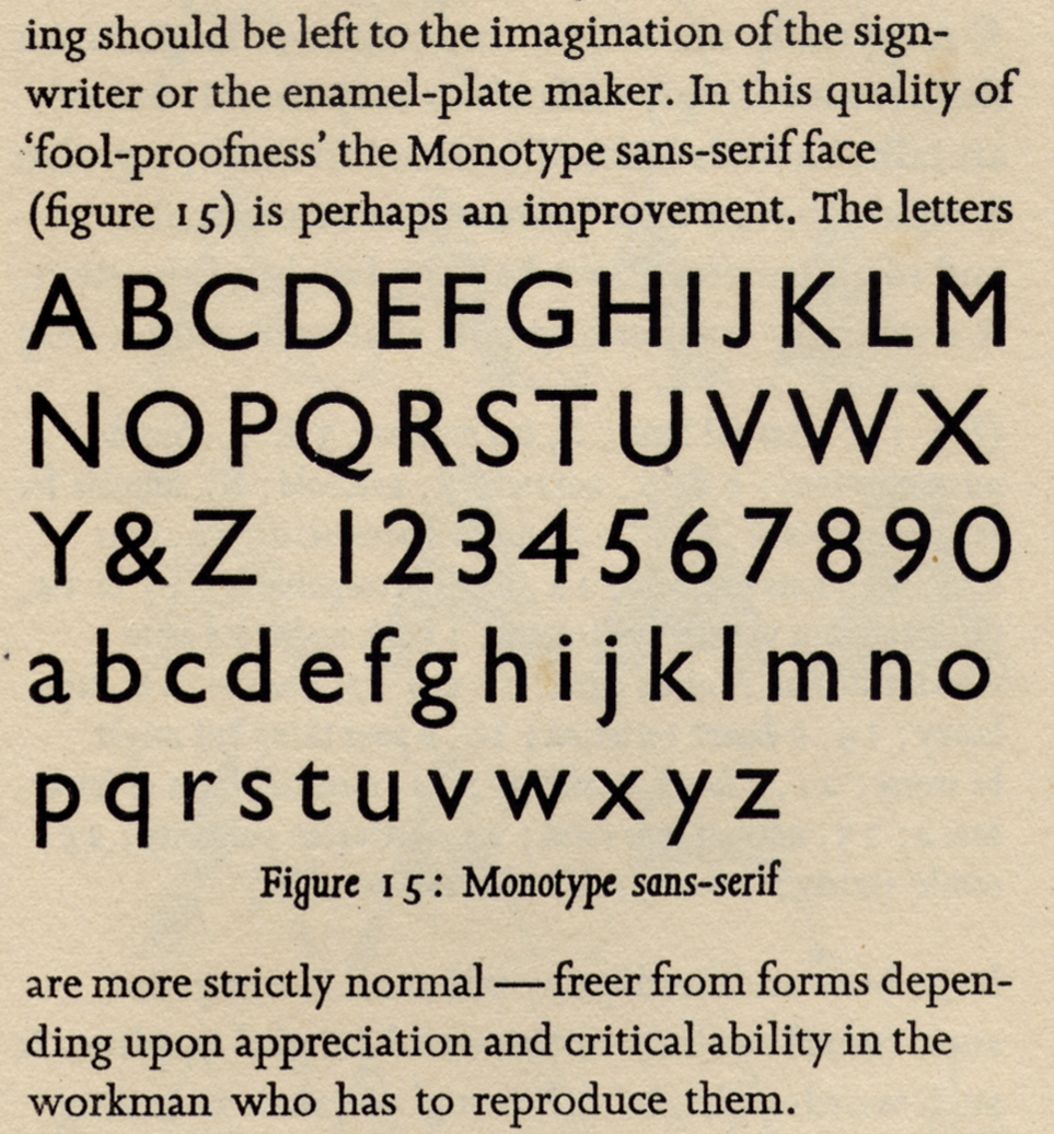 Typotheque: Eric Gill got it wrong
