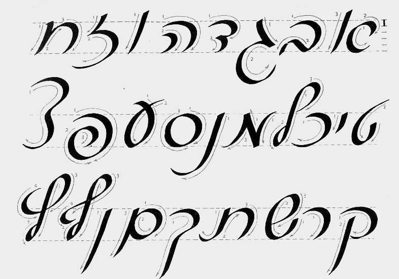 Although There Were Many Literature And Poetry Books Typeset In David Typeface The Cursive Style Never Won Appreciation It Deserved